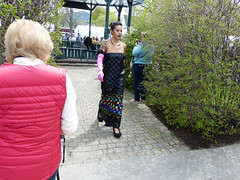 Abbe Museum Indian Market Fashion Show (lucre101) Tags: bar harbor maine downeast beautiful abbe museum indian market fashion show native american fancy basket weave dress