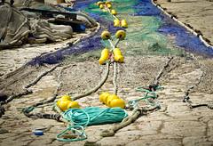 Fischernetz im Hafen von Portocolom (K&S-Fotografie) Tags: hafen harbour spanien mallorca portocolom fischernetz