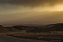 Death Valley sunset (Rita Eberle-Wessner) Tags: usa death valley sunset road sonnenuntergang strase california kalifornien landscape landschaft berge mountains wüste desert