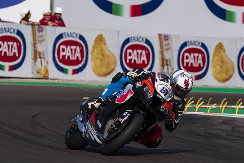 """WSBK Imola 2018 • <a style=""""font-size:0.8em;"""" href=""""http://www.flickr.com/photos/144994865@N06/27498554287/"""" target=""""_blank"""">View on Flickr</a>"""