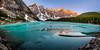 Moraine Lake, Alberta (Darcey Prout) Tags: moraine lake ice canada alberta reflecting water ab banff louise