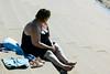 Une belle journée à Blackpool (4) (dominiquita52) Tags: streetphotography beach blackpool steps marches woman femme