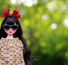 Darkest (pure_embers) Tags: pure embers doll dolls uk pureembers photography laura england fashion atomaru maru dorandoran doran mary ara cute outside portrait korean moshimoshi sunglasses shades