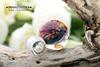 Совершенно необыкновенная бусина с 3D эффектом! С одной стороны имплозия необыкновенный цветок, с другой стороны космос с блестящей воронкой из стекла. (Branzuletka) Tags: лэмпворк galaxy glass lampwork branzuletka beads b