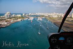 N196DM (Hector A Rivera Valentin) Tags: puerto rico heli tours san juan robinson r44 n196dm over take off water sea isla del encanto good after noon
