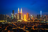 Cityscape of Kuala lumpur city (anekphoto) Tags: malaysia kuala lumpur skyline city architecture landmark scene tower famous asia petronas skyscraper modern business view cityscape urban travel towers downtown twilight silhouette town home poor sky background building sunset landscape office shopping place exterior financial center tall highway district sunrise night corporate park tourism structure scenery capital morning old