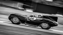 Steve Brooks Jaguar D type (jdl1963) Tags: steve brooks jaguar d type thruxton 50th anniversary motorsport motor racing classin sports cars jd classics bw blackandwhite black white mono monochrome