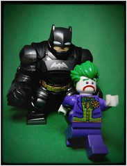 Big Bat (LegoKlyph) Tags: lego custom brick block mini figure bat man batman gotham comic book dc superhero hero dark knight joker armor