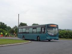 Notts&Derby 617 Download (Guy Arab UF) Tags: nottsampderby 617 fj03vwf scania l94ub wright solar debranded bus donington park download derbyshire wellglade group buses wellgladegroup
