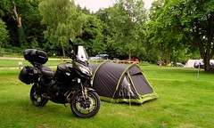 Kawasaki 650 Versys GT & Tent At The Camp site In Bala North wales 8Th June 2018 (mrd1xjr) Tags: kawasaki 650 versys gt tent at the camp site in bala north wales 8th june 2018