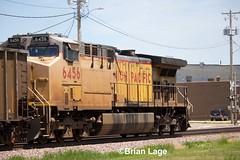 UP 6456 (eslade4) Tags: up unionpacific tama up6456 ac44cw dpu