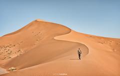 The dune (Antoni Figueras) Tags: desert morocco ouzina dune man shadows sahara africa sonya7rii sony2470f4 dunes