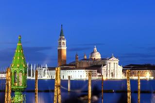 ABM (Another Blue Monday) / San Giorgio Maggiore seen from San Marco square , Venice