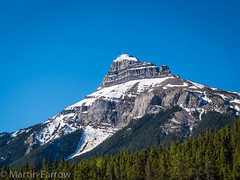 _5227588 (Hyperfocalist) Tags: canada alberta spring rocky mountains banff peak mountain trees forest snow
