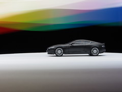 Life & Monochrome. (GT HP Nut) Tags: tamiya aston martin dbs 124 model kit