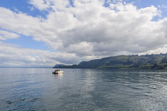 Nubes en el lago. (Victoria.....a secas.) Tags: nuevazelanda lago lake nubes clouds