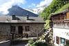 Place de la Fontaine, Mex (bulbocode909) Tags: valais suisse mex villages maisons escaliers fontaines montagnes nature paysages printemps nuages forêts vert bleu neige