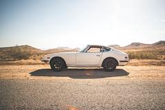 Desert Roads (Shutter Theory) Tags: desert mojavedesert 240z datsun ratsun s30 notwats rotarkr