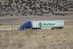 Mayflower - Active Logistics, INC. (ashman 88) Tags: westernstar mayflower semi bigrig trucking 18wheeler tractortrailer westernstar5700xe