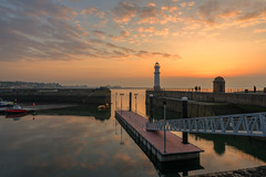 Newhaven at Dusk (MilesGrayPhotography (AnimalsBeforeHumans)) Tags: 1635 sonyfe1635mmf4zaoss architecture auldreekie a7ii britain bridge boats city dusk edinburgh europe evening fe f4 firthofforth glow golden goldenhour historic haze harbour haar harbor iconic ilce7m2 landscape lens landscapephotography nd nighfall newhaven newhavenharbour newhavenlighthouse lighthouse outdoors oss ocean photography photo pontoon tranquil reflections river scotland scenic sky skyline sunset sunlight sonya7ii sony sonyflickraward sea seascape scottish scottishlandscapephotography town twilight uk unitedkingdom village fishing waterscape water wide wideangle zeiss