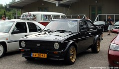 Ford Escort 1300 L automatic 1980 (XBXG) Tags: fv28kt ford escort 1300 l automatic 1980 fordescort black noir youngtimer evenement classicpark cp boxtel noord brabant nederland holland netherlands paysbas vintage old classic german car auto automobile voiture ancienne allemande deutsch vehicle outdoor