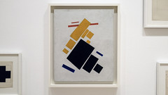 Malevich, Suprematist Composition: Airplane Flying