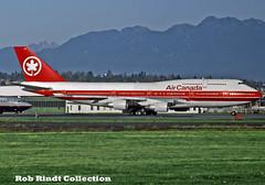 Air Canada B747-433M C-GAGL (planepixbyrob) Tags: canada aircanada boeing 747 747400 jumbojet queenoftheskies cgagl yvr vancity vancouver kodachrome
