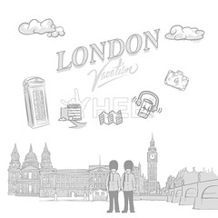 London travel marketing cover (Hebstreits) Tags: architecture art background ben big britain british building business city cityscape cover drawing drawn elements england english europe european famous hand headline illustration isolated kingdom landmark landmarks landscape london marketing pencil set sketch skyline street symbol tourism tower travel typo uk urban vacation vector vintage westminster