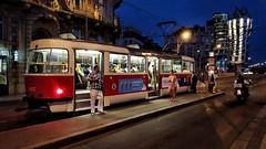 Don't loose your tram. (j૯αท ʍ૮ℓαท૯) Tags: prague czechia street tram city traffic train travel traveling visiting tramway urban tourism locomotive road bus tourist railway public commuter