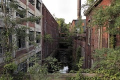 Trickle (95wombat) Tags: old derelict rotted decayed mill factory massachusetts