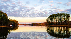 Winter Evening - Swift Creek Reservoir, Midlothian, VA by Paul Diming (Paul Diming) Tags: midlothianvirginia photocontesttnc13 landscape virginia dailyphoto lake swiftcreekreservoir d7000 winter midlothian pauldiming unitedstates us