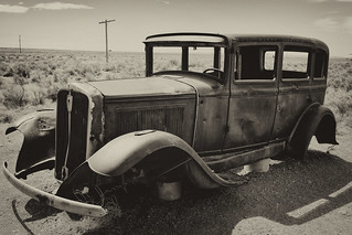 1932 Studabaker On The Highway Of Dreams