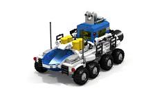 NCS All Terrain Vehicle (see description) (lcsfan94) Tags: lego legospace legoideas neoclassicspace classicspace