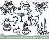 Xmas Series: Hand Drawn Xmas Elements (stockgraphicdesigns) Tags: bell bells berry bible bow candelabrum candle candles candlestick candy candycane cane celebration chain christian christianity christmas christmasdecoration cross crosschain decor decoration decorative deer drawing festival freehand gift greeting handdrawn hat holiday holly hollyberry lamb leaf menorah merry mistletoe reindeer religious santahat santashat season snowman symbol thorn winter xmas xmaselements yule yuletide