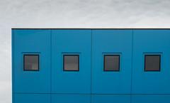 20180609_1373_7D2-33 Blue building grey sky (johnstewartnz) Tags: 2470 2470mm ef2470mmf4l blue building canon canonapsc apsc eos 7d2 7dmarkii 7d canon7dmarkii canoneos7dmkii canoneos7dmarkii tuamstreet christchurch 100canon