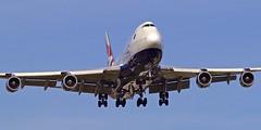 LHR/EGLL: BritishAirway Boeing B747-400 G-CIVL (Roland C.) Tags: airport london heathrow uk