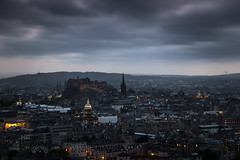 Edinburgh Castle (GenerationX) Tags: arthursseat barr canon6d edinburgh edinburghcastle forthroadbridge holyroodpark lothian neil queensferrycrossing salisburycrags scotland scottish stgilescathedral cityscape clouds dusk evening landscape lights oldtown royalmile sky unitedkingdom gb