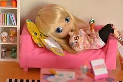 Relax time (-gigina-) Tags: doll pullip dal shanty carnival limited groove junplanning nikon d3100 obitsu rewigged diorama