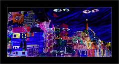 Série Atelier des Lumières : N°12  - Les yeux - (Jean-Louis DUMAS) Tags: artistic peintre peinture abstract abstrait abstraction artistique artiste art woman fille girl femme people personne
