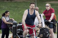 Man biking on Mall, Washington DC (dckellyphoto) Tags: districtofcolumbia washingtondc 2018