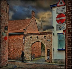 Brugge - Belgique 2015 (Philippe Hernot) Tags: brugge bruges belgique flandres philippehernot kodachrome street city carré square nikond700 nikon posttraitement