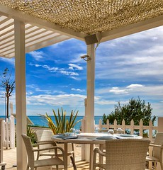 Lunch time...The Palaseit Restaurant (mtm2935) Tags: mediterraneansea coast view mediterráneanview restaurant beautiful spain castellon benicassim views mirador setting spot mediterranean ocean beach mar costa azahar