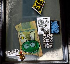 stickers in Hamburg (wojofoto) Tags: stickers stickerart sticker hamburg germany deutschland streetart wojofoto wolfgangjosten wojo bunnybrigade