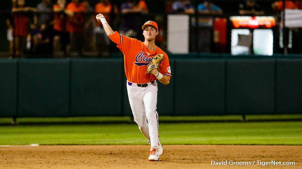 Clemson Photos: Patrick  Cromwell, 2018, Baseball, moreheadst, ncaaregional