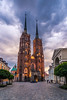 The cathedral of St. John the baptist (Vagelis Pikoulas) Tags: cathedral church architecture wroclaw poland europe travel holidays spring may urban city cityscape 2018 tokina 1628mm landscape canon 6d sky skyscape clouds cloudy cloud cloudscape colors colours