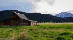 John Moulton Barn (pk_kyo) Tags: john moulton barn mormonrow grandteton evening