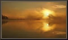 A change of pace (WanaM3) Tags: wanam3 sony a700 sonya700 texas pasadena clearlakecity bayareapark park armandbayou bayou outdoors nature fog reflection goldenhour clouds sunrise dawn