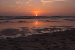Sunset in Zandvoort (Jana`s pics) Tags: zandvoort netherlands sunset beach sand ocean water northsea sun evening eveningmood abend abendstimmung abendrot sonnenuntergang nordsee wasser ozean meer niederlande vacation urlaub strand wellen waves