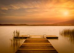 Lago di Pusiano (Christian Papagni | Photography) Tags: bosisioparini lombardia italia it canon eos 5d mark iv ef24105mm f4l is ii usm lago di pusiano lake sunset tramonto sun sole