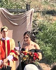 009 Jessica Recites Her Vows (saschmitz_earthlink_net) Tags: 2018 california angelesnationalforest losangelescounty sylmar reptacularranch kevinjessicawedding